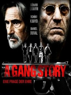 A Gang Story movie poster