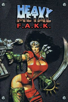 Heavy Metal F.A.K.K. movie poster