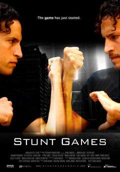Stunt Games movie poster