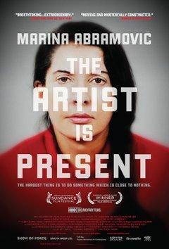 Marina Abramović: The Artist Is Present movie poster