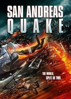 San Andreas Quake movie poster