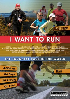 I want to run - The toughest race in the world movie poster