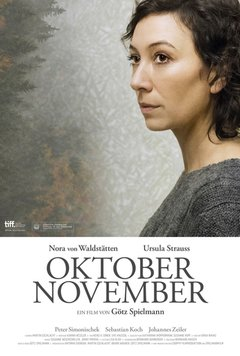 October November movie poster