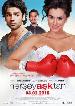Her Şey Aşktan Filmplakat