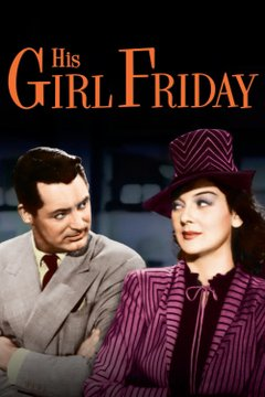 His Girl Friday movie poster