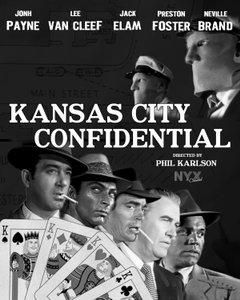 Kansas City Confidential movie poster