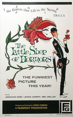 The Little Shop of Horrors movie poster