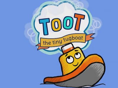 Toot the tiny tug boat
